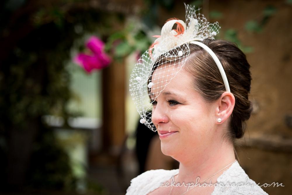 bride crying at groom