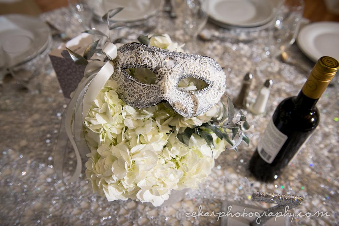 masquerade masks wedding decor