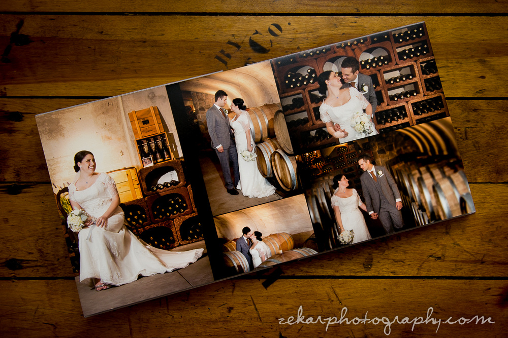 flushmount wedding albums