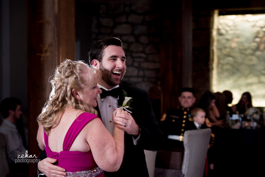 groom and mother first dance
