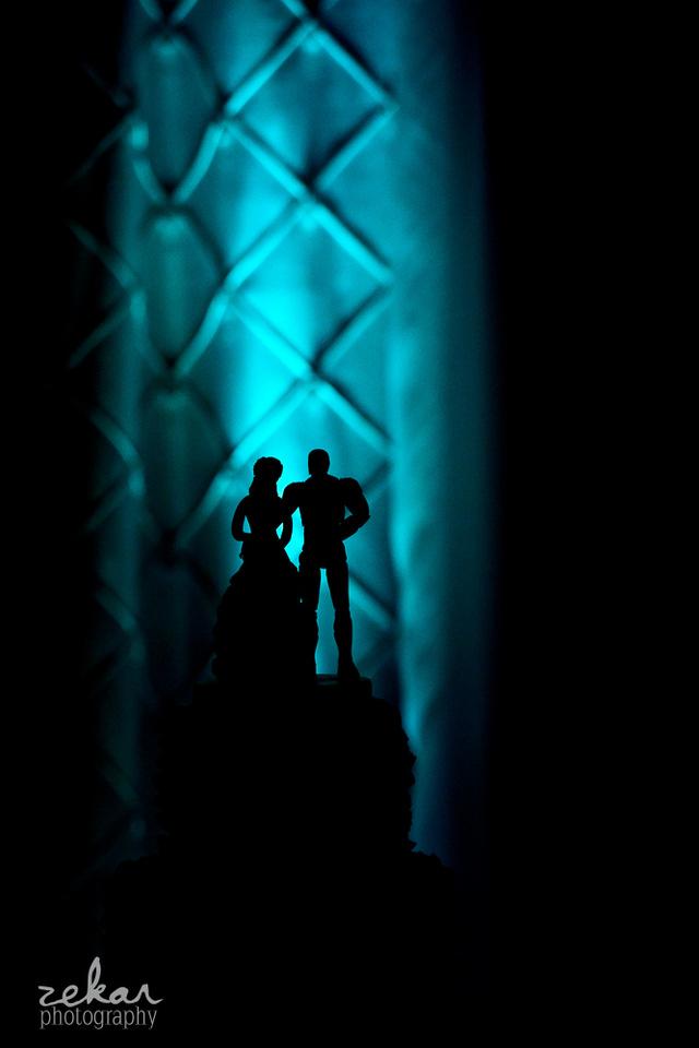 wedding cake silhouette