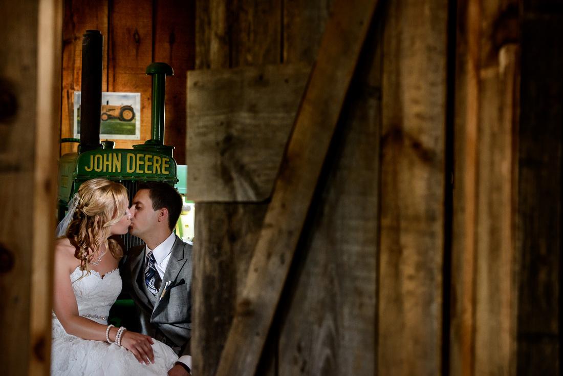 bridal couple portrait