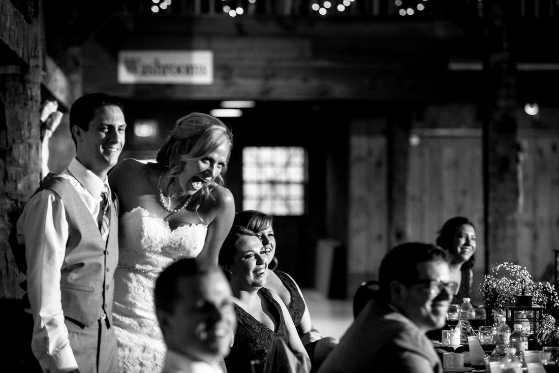 groom emotional at speeches