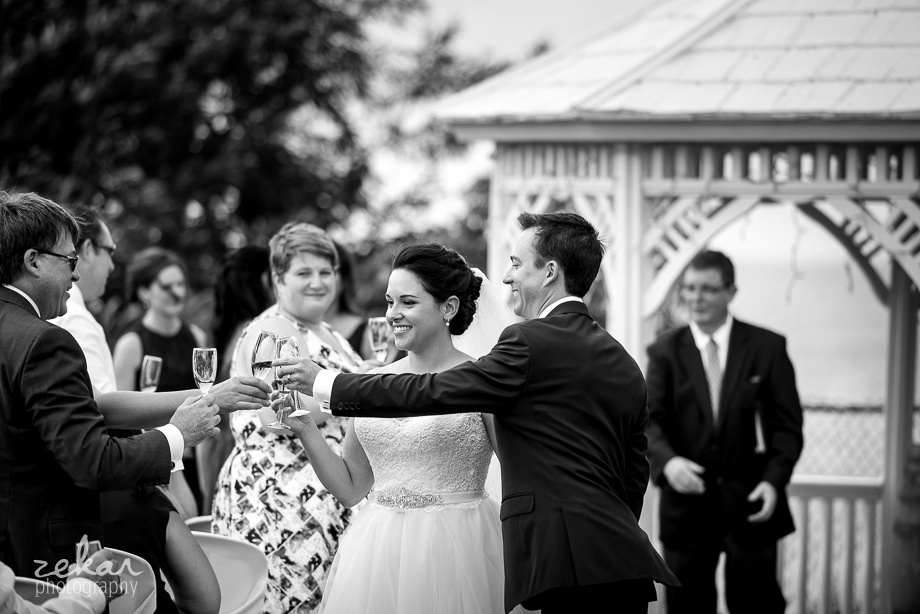 groom cheers father in law