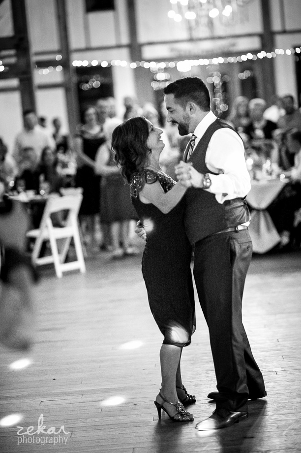 groom first dance with mom