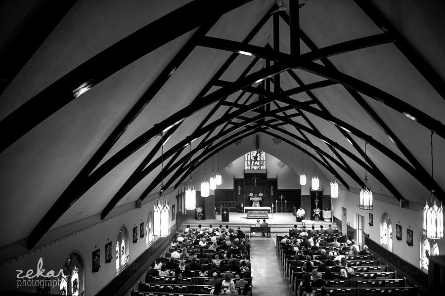 balcony photo in church