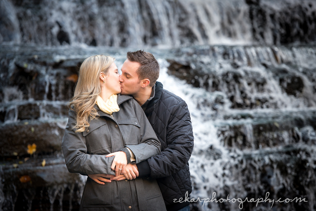 engagement photoshoot albion falls