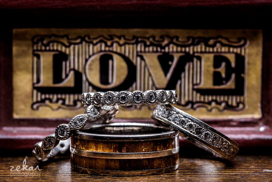 wedding ring shot