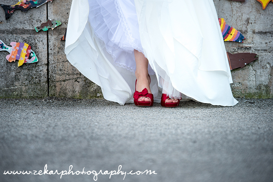 sexy red wedding shoes zekar photography