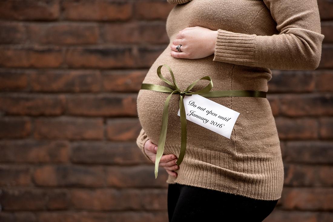 cute maternity announcement