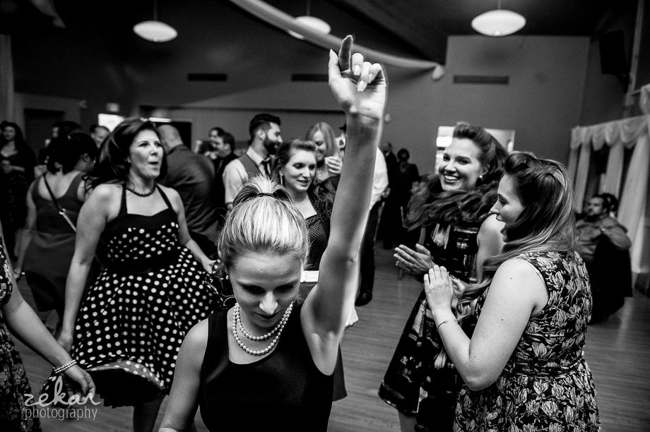 swing dancing reception