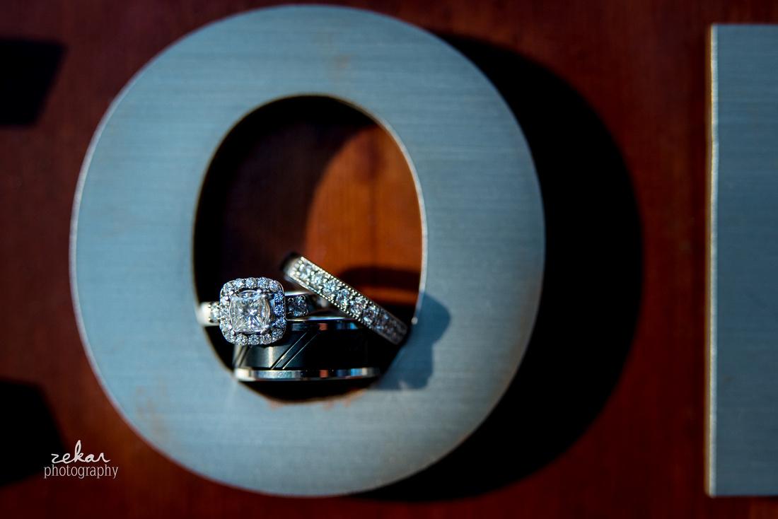 rings in letter o