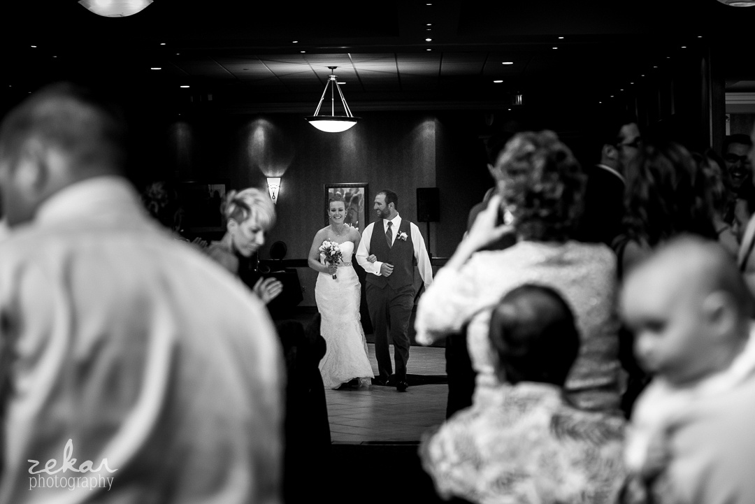 bride introducing