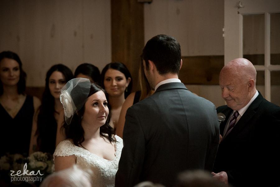 bride looking ad husband