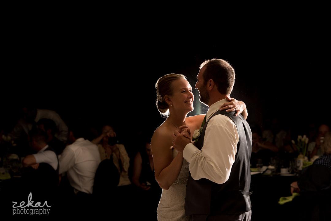 happy dancing couples