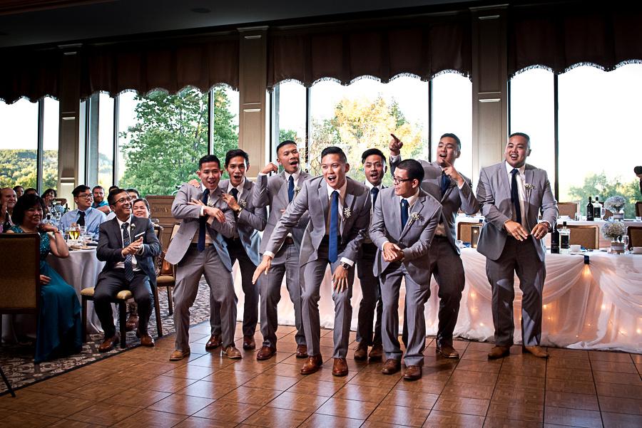 crazy groomsmen