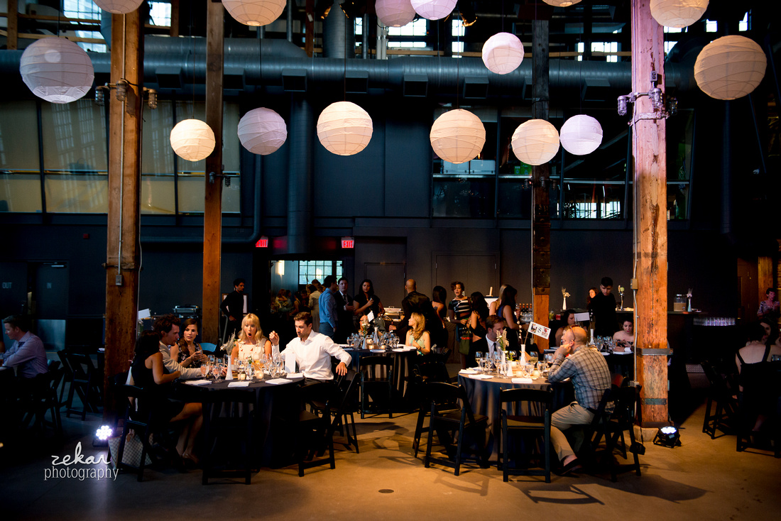 reception at Steamwhistle Brewery Toronto