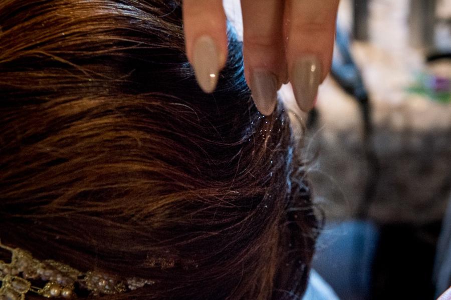 sparkle hair