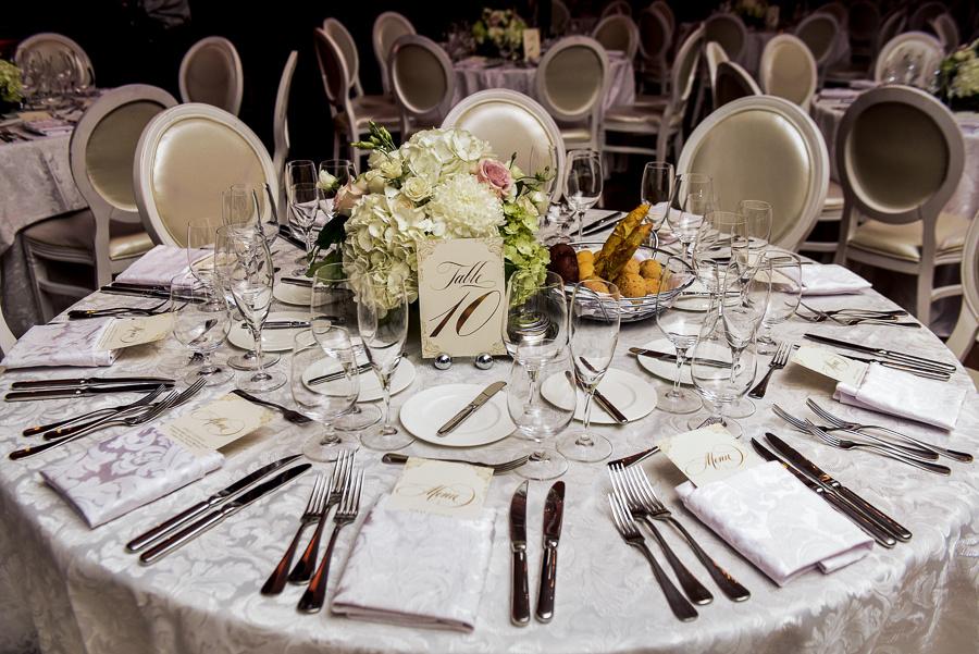 floral tablescapes