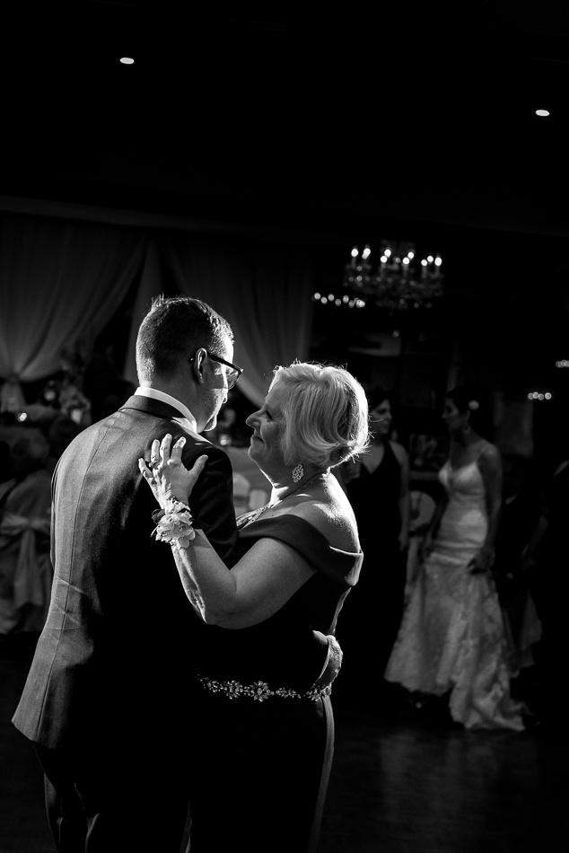 happy wedding dancing