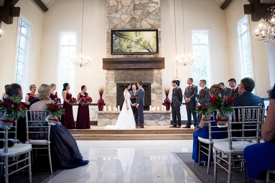 miller chapel wedding ceremony