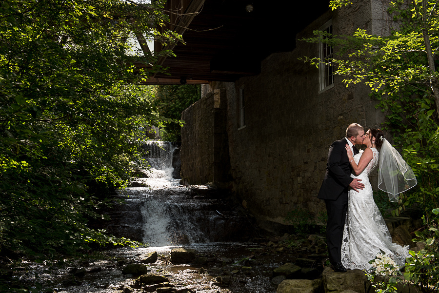 ancaster mill waterfall