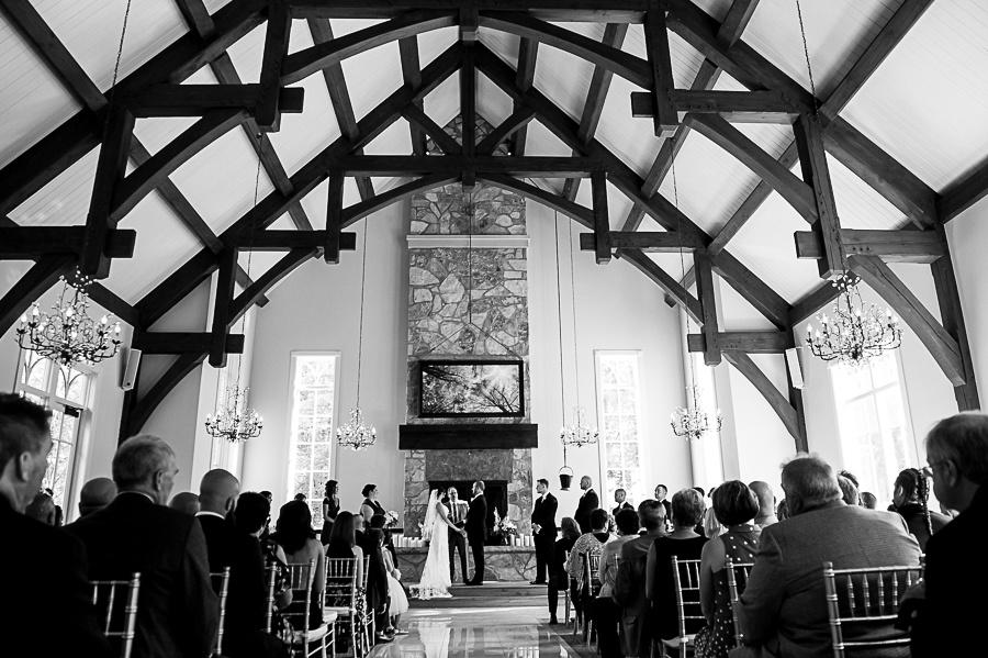 wedding ceremony ancaster mill