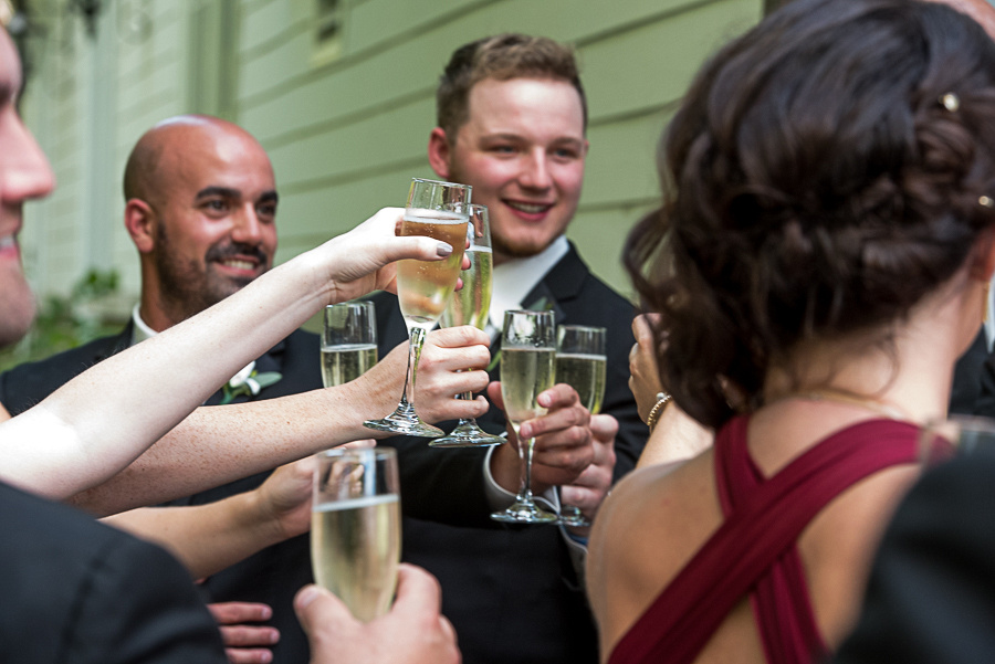 celebratory toasts
