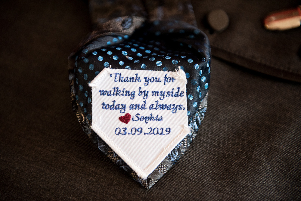 tie thank you gift