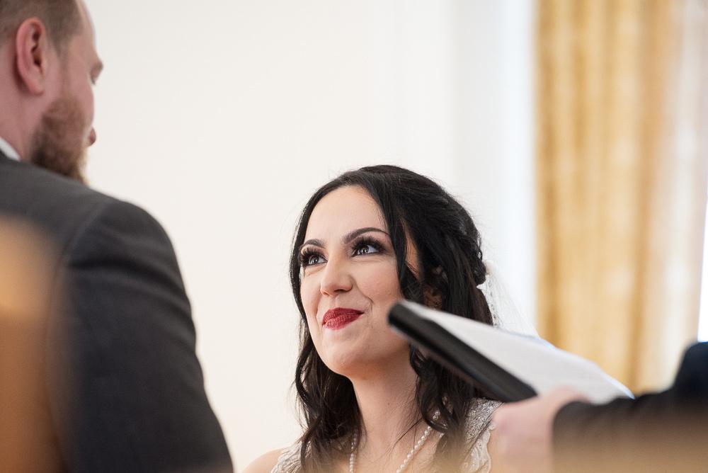emotional wedding ceremony