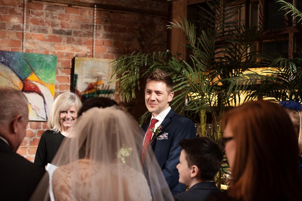 intimate wedding ceremony restaurant