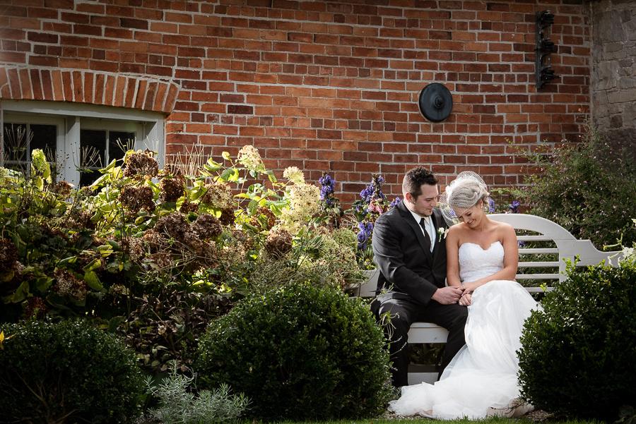 ruthven park bridal portrait