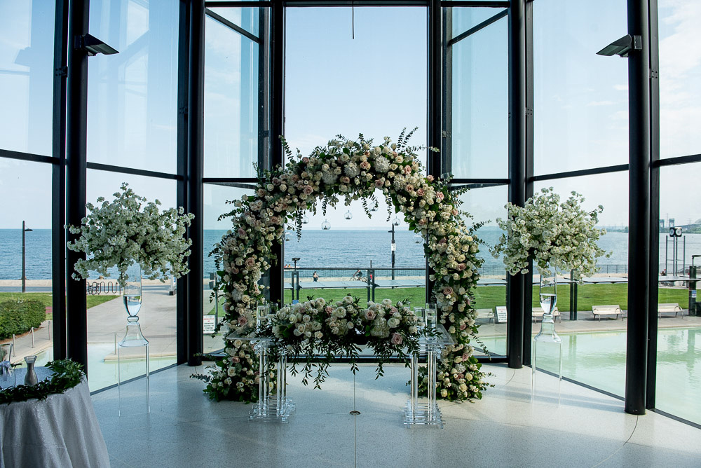 Spencers On The Waterfont Wedding Ceremony