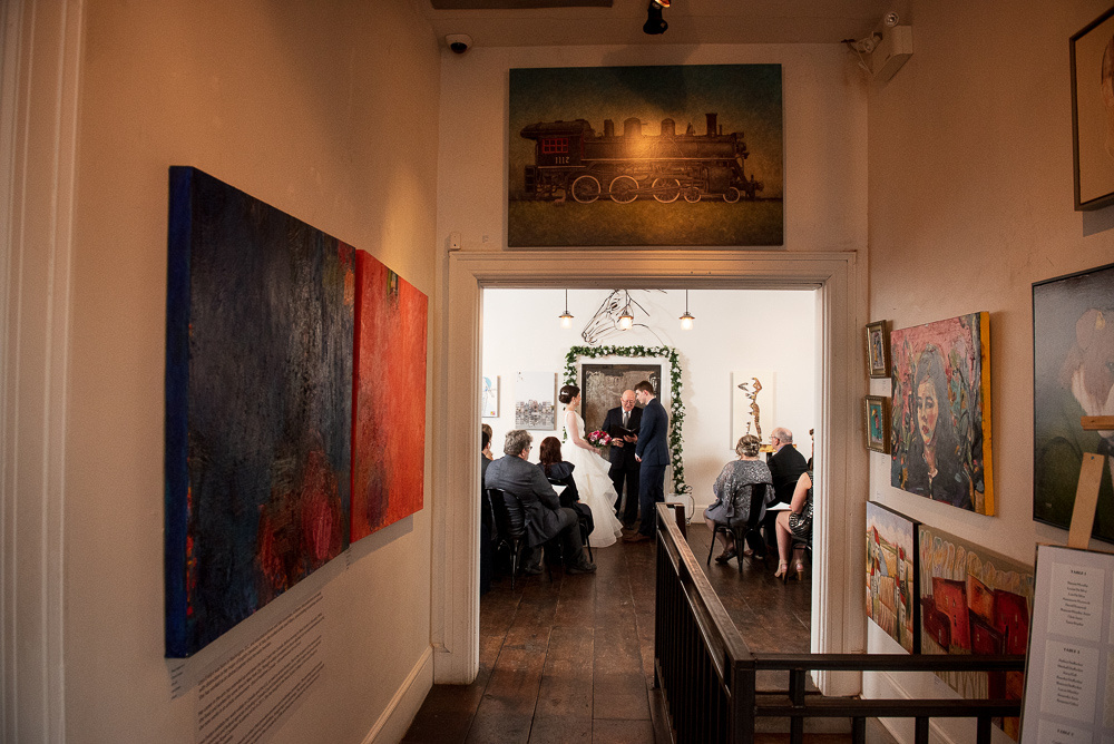 indie art gallery wedding ottawa
