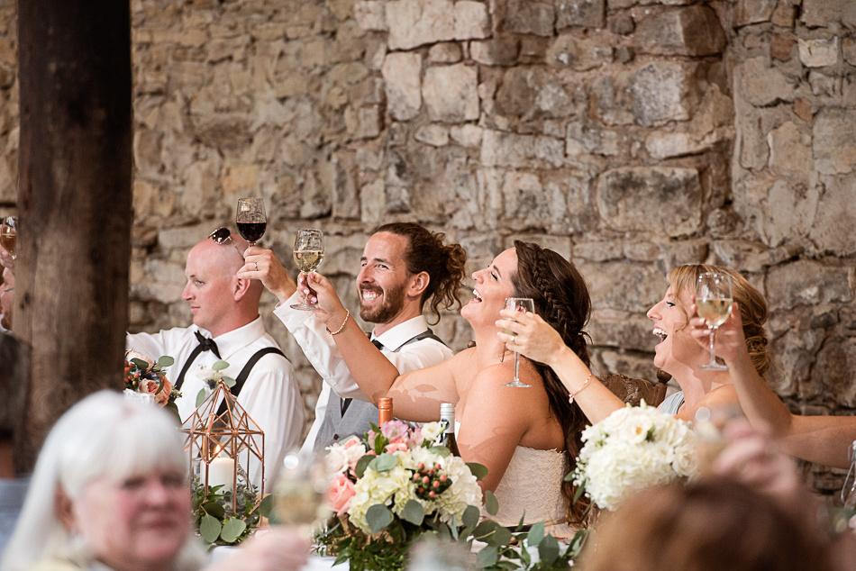cheers wedding