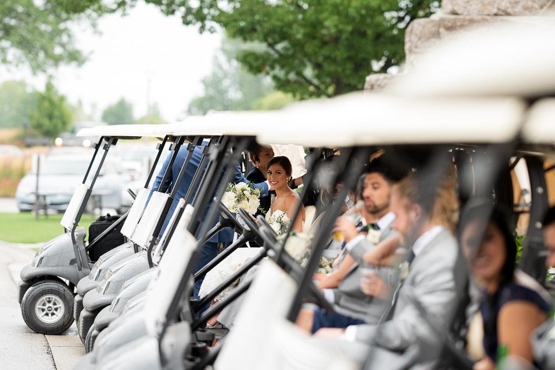 whistlebear golf club wedding portraits