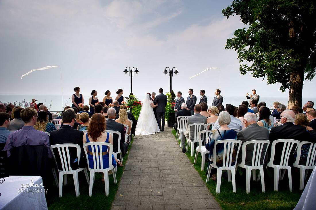 wedding ceremony liuna gardens
