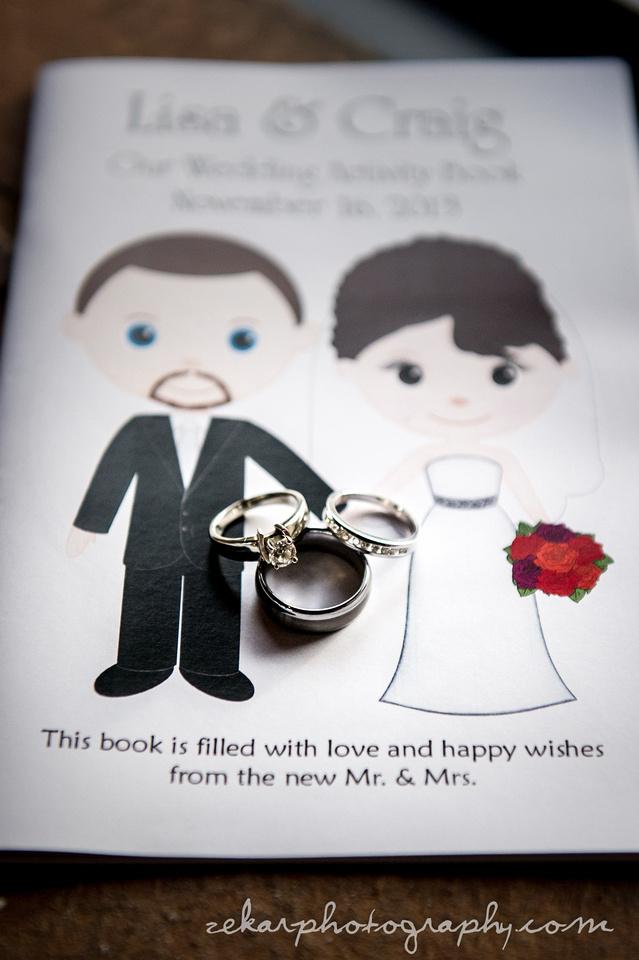 wedding colouring book