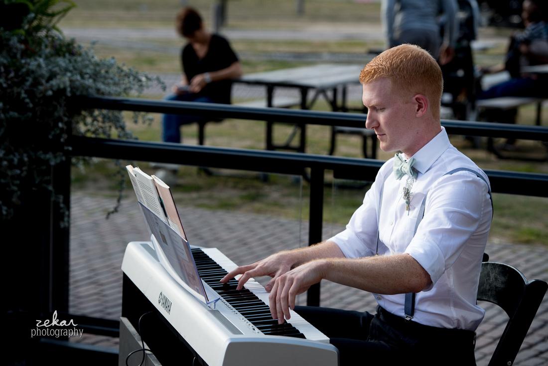 friend playing piano