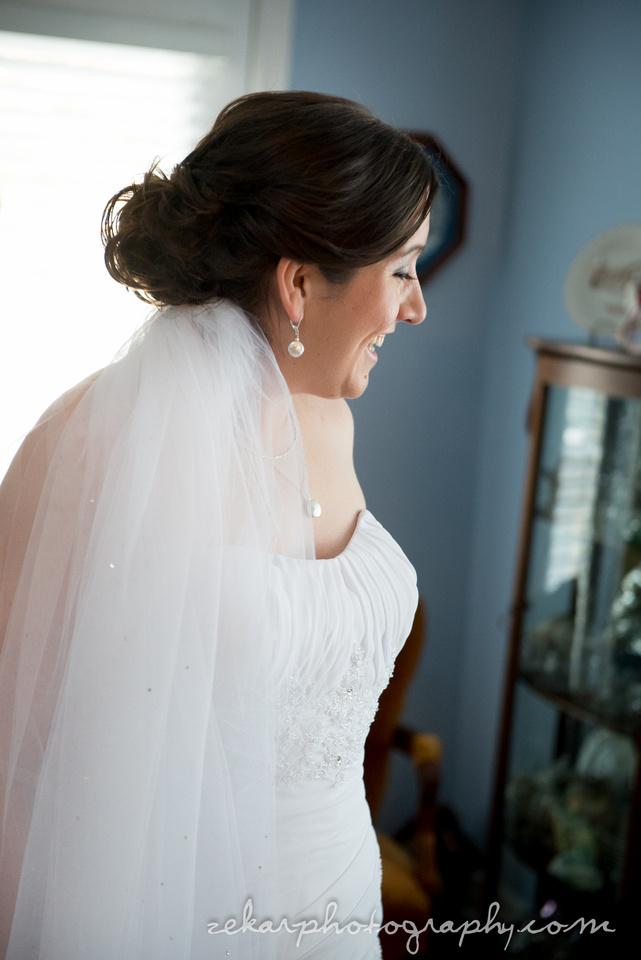 bride side profile