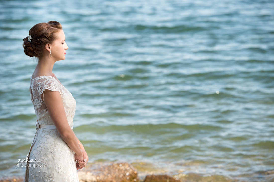 bride waiting for groom