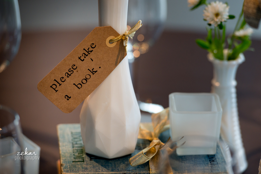 table decorations book lovers