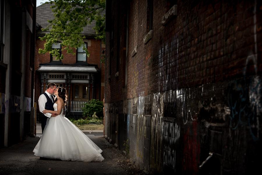 bride and groom hamilton