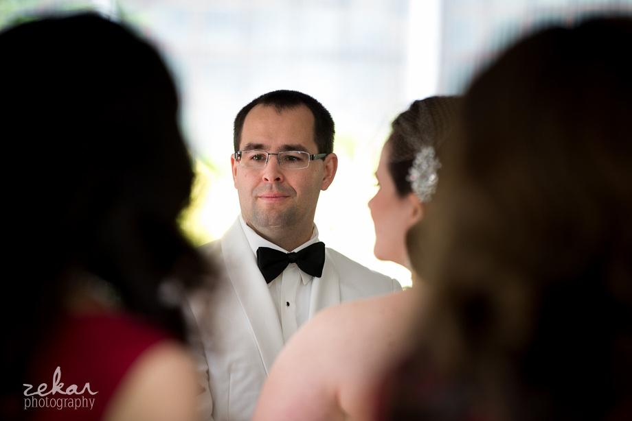 groom at altar