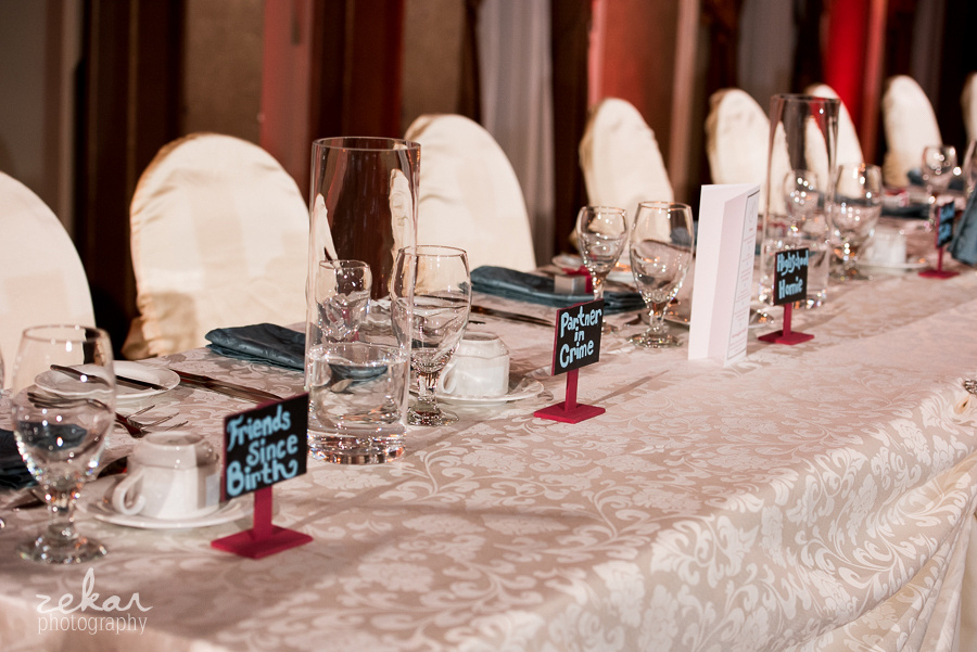 intimate place settings