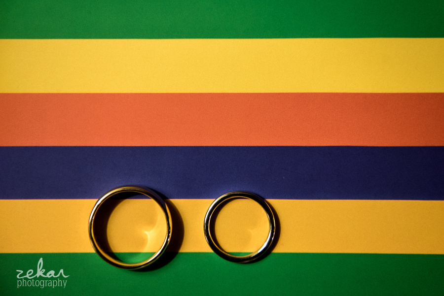 rings on rainbow