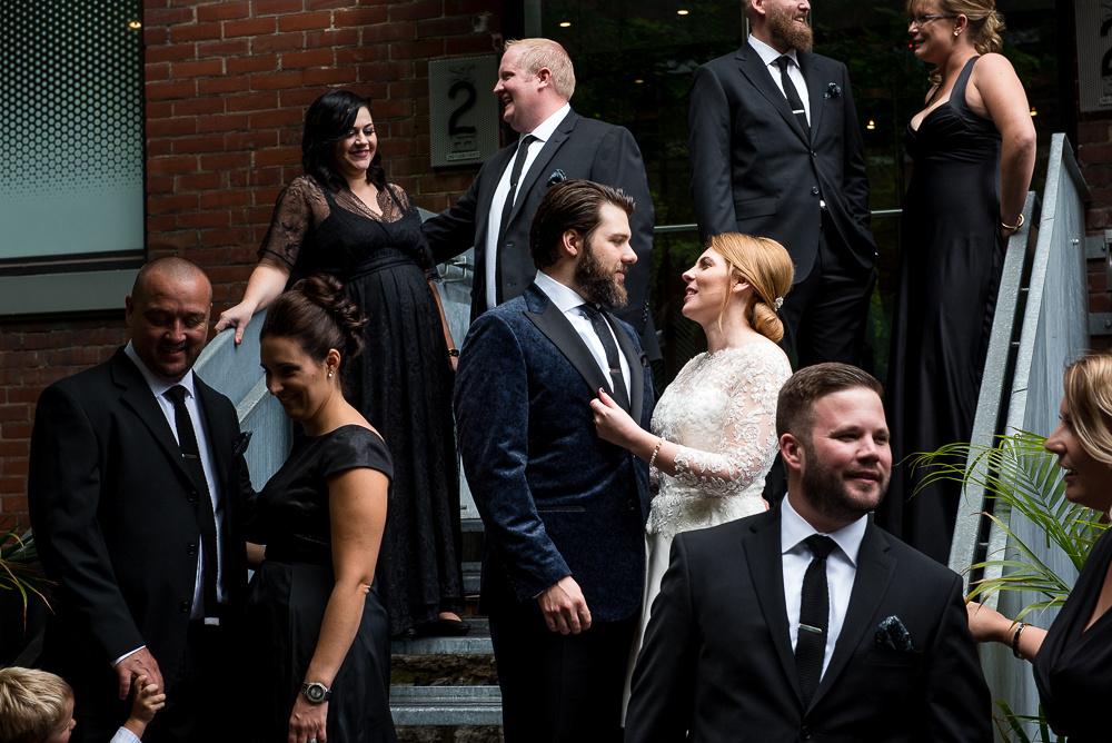 bridal party downtown toronto