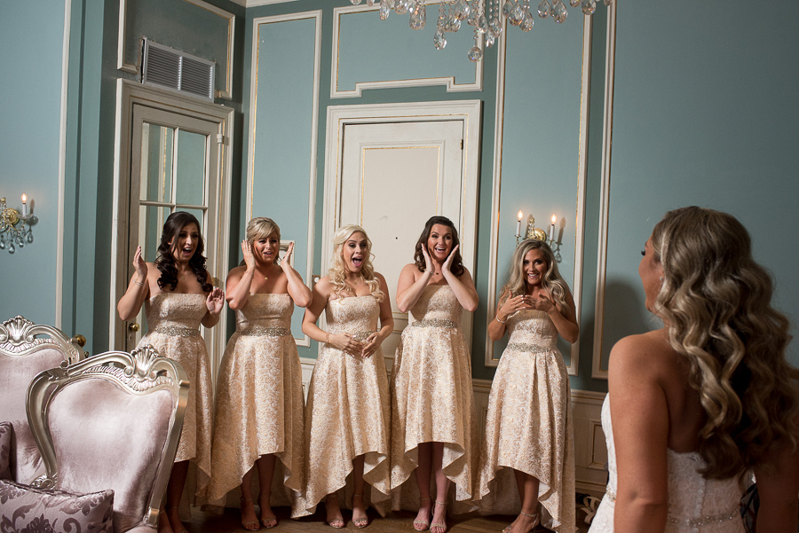 bridesmaids first reveal