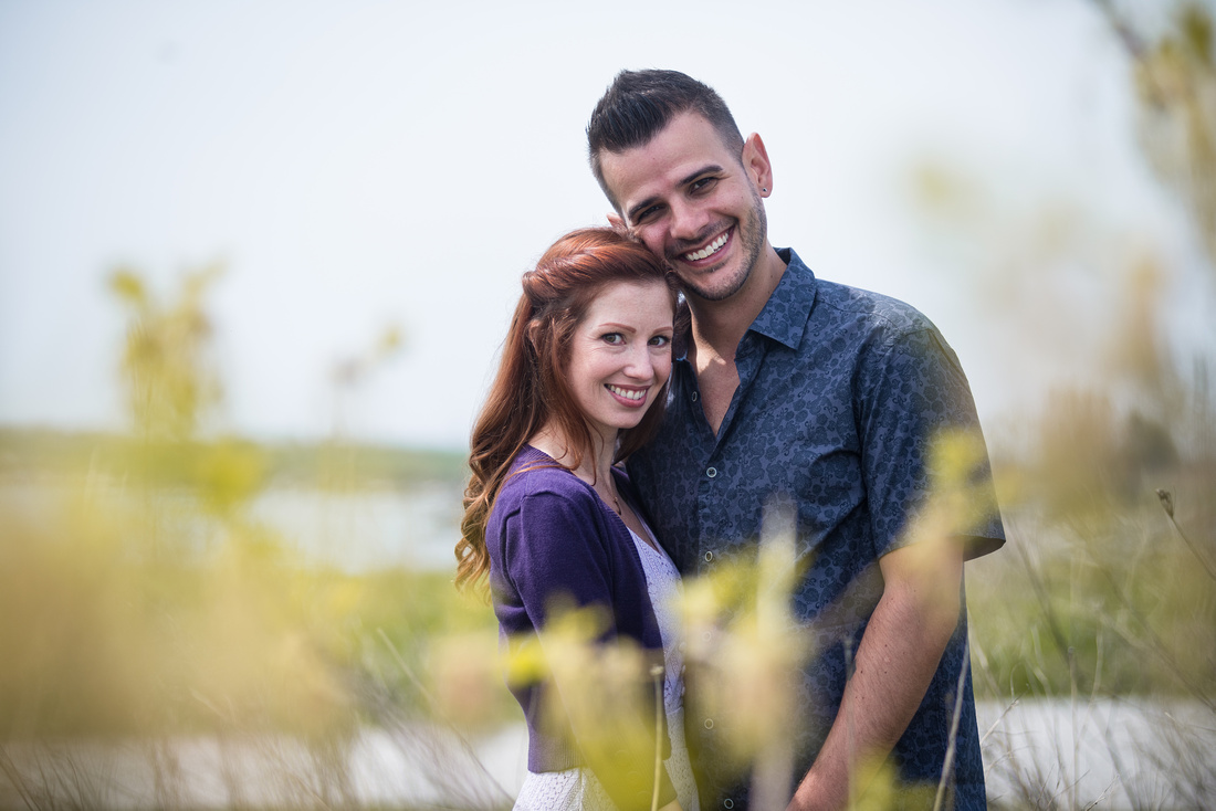 Toronto Engagement Session Colonel Sam Smith Park