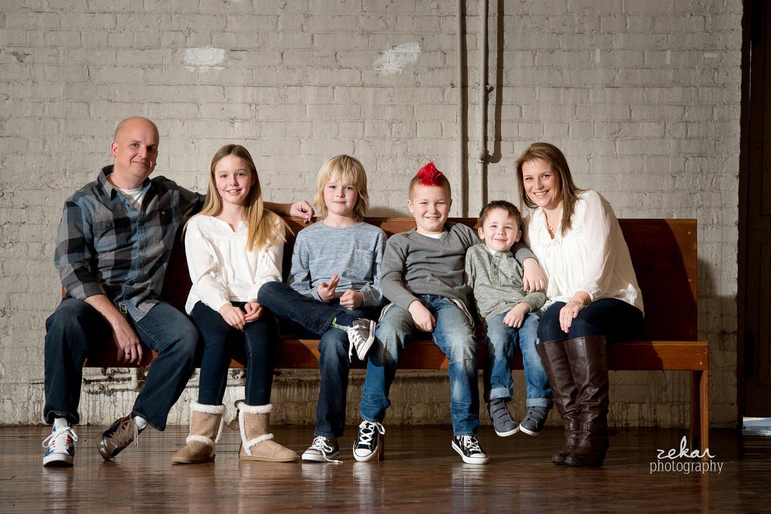 family photoshoot industrial hamilton